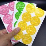 Phân loại các loại in sticker giá rẻ